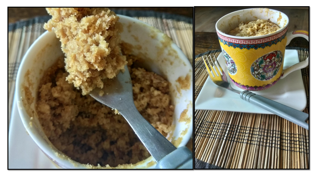 This 2 Minute Mug Cake is a welcome relief for people who do not like elaborate baking. Added to it it is Vegan and Gluten free. This is quite a delicious and healthy dessert.