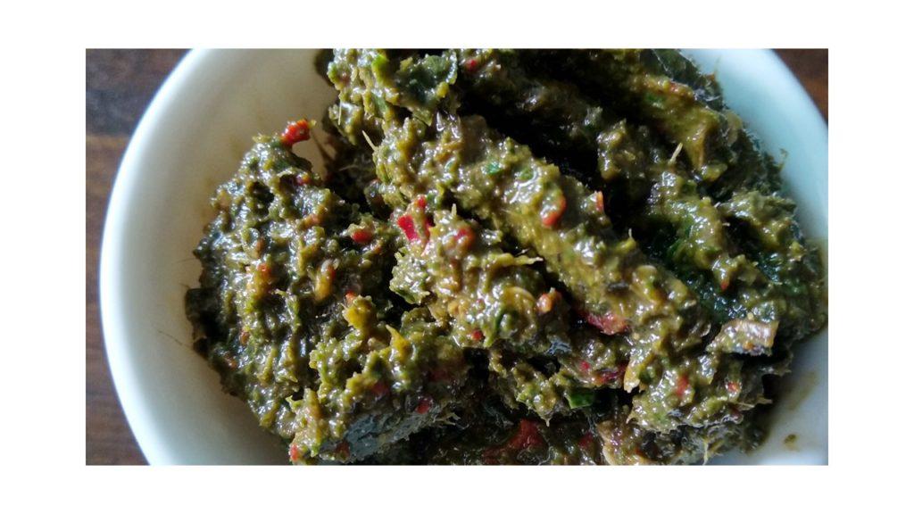 Curry leaves chatni