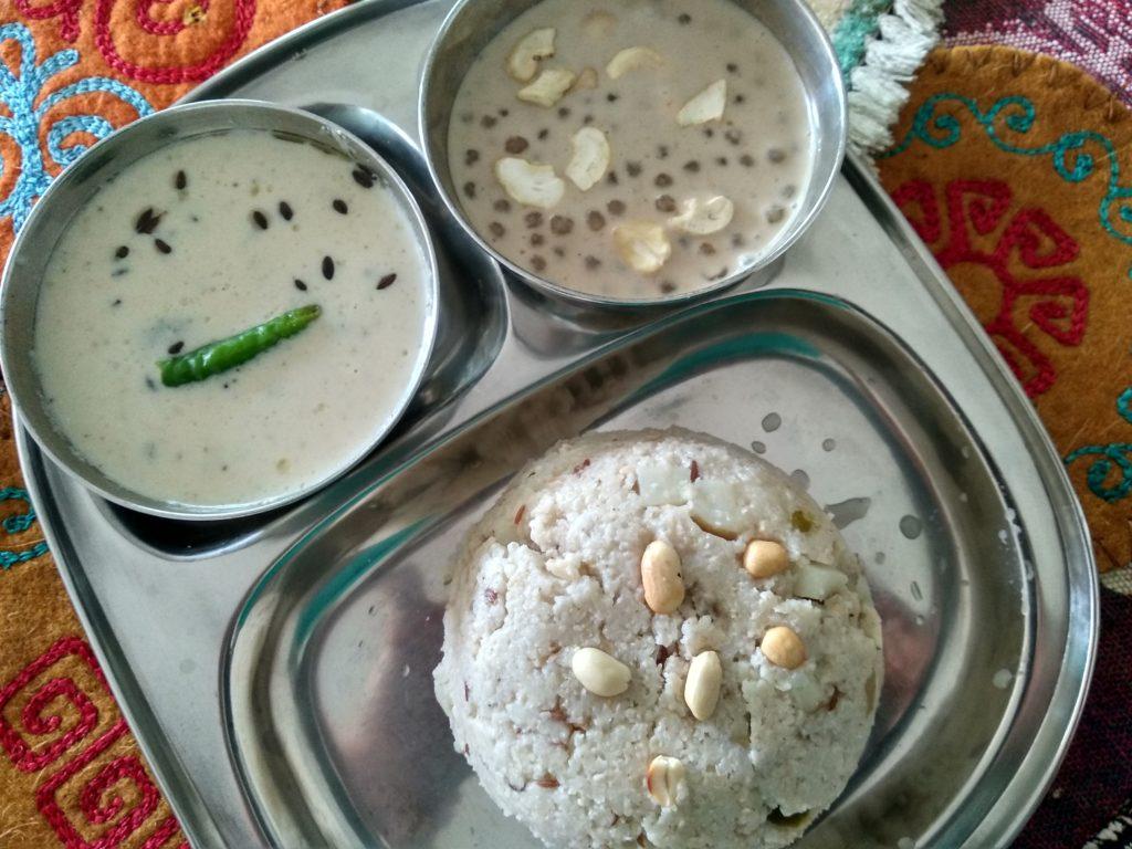 Navratri Thali Day 2