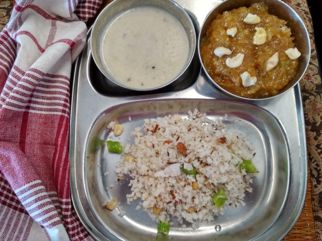 Navratri thali day 4