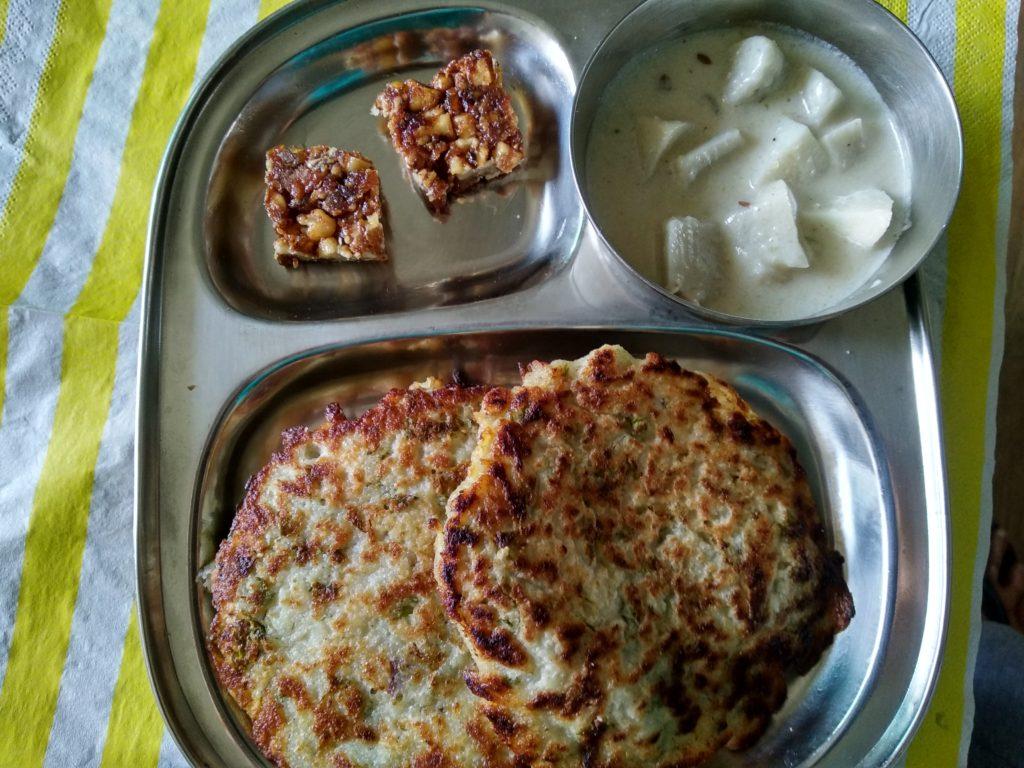 Navratri thali day 5