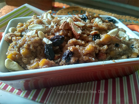 Dry Fruits Sweet with Millet