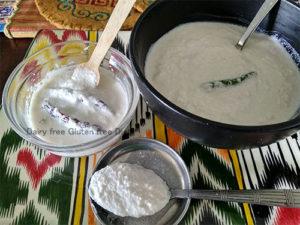 Peanut Curd / Groundnut Yoghurt