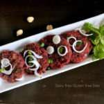 Beetroot Chole Tikki