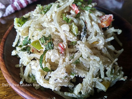 Cheesy Rice noodles