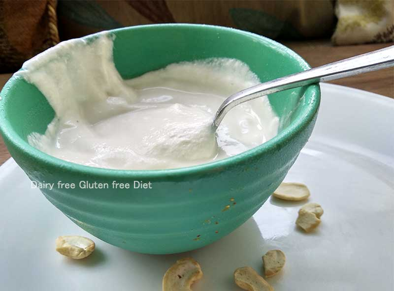 cashew yogurt