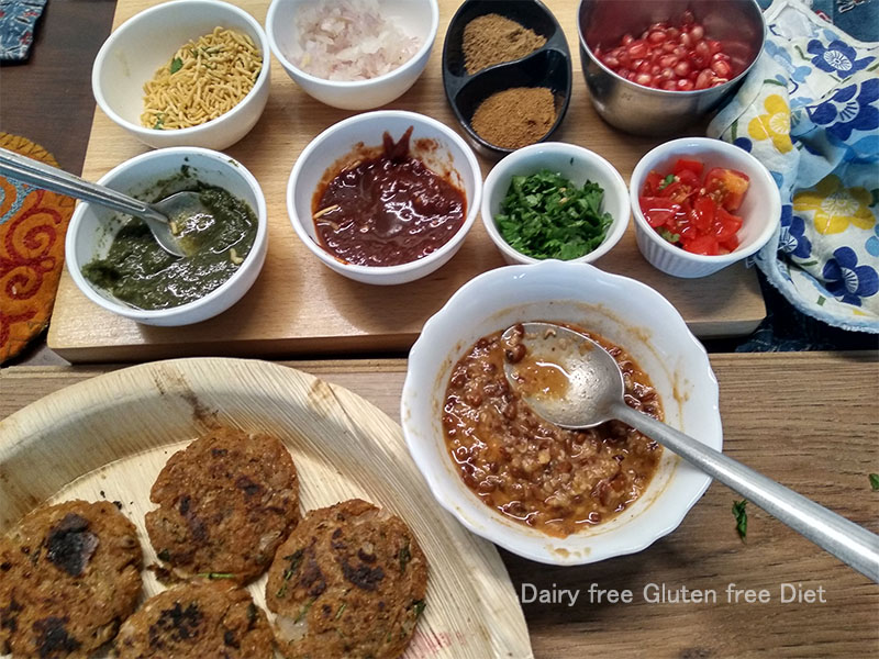 Ragda Patties / Red Ragda Patties - Dairy Free Gluten Free
