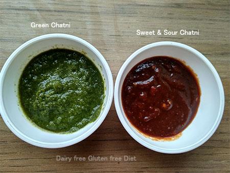Sweet Chatni / green Chatni