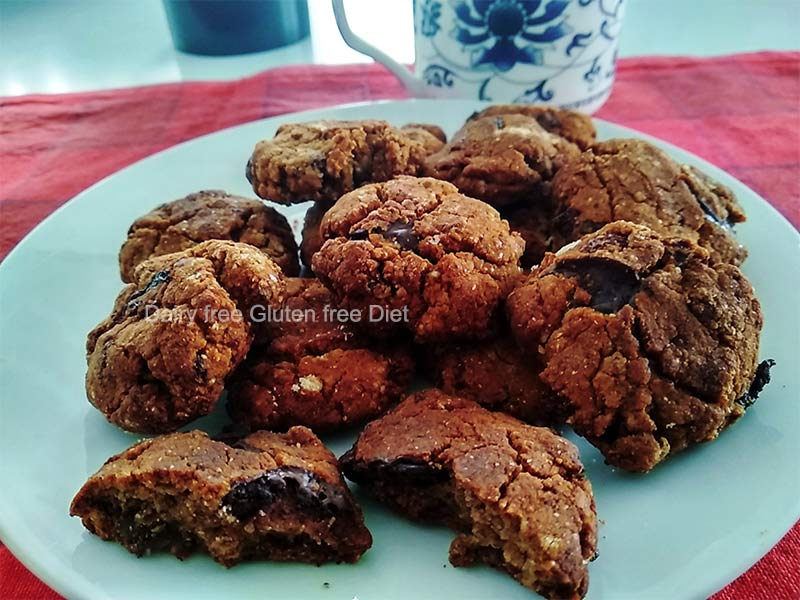 raisin Choclate chips cookies