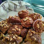 date and Walnut muffins