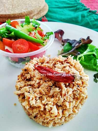 Cauliflower Sesame Rice