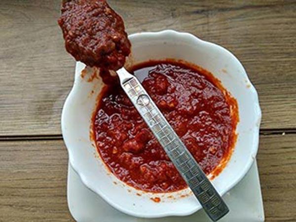 Jini Dosa Chilli garlic sauce