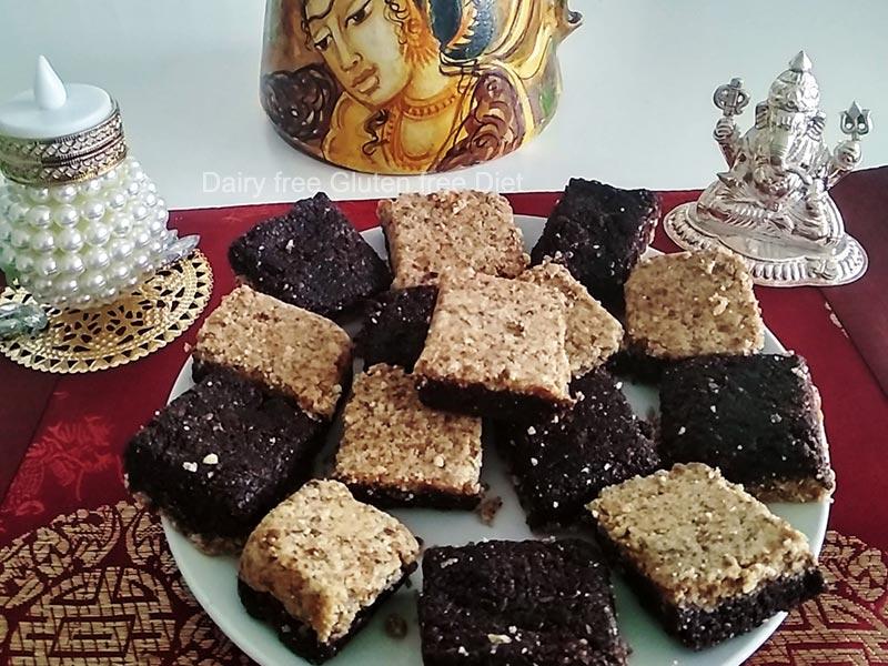 Flax seeds Cocoa Burfi