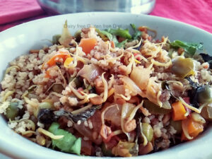 Ssprouted methi seeds pulao